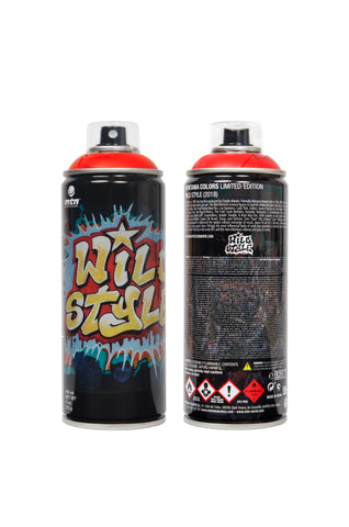 Wild Style x Montana Limited Edition Spray Can