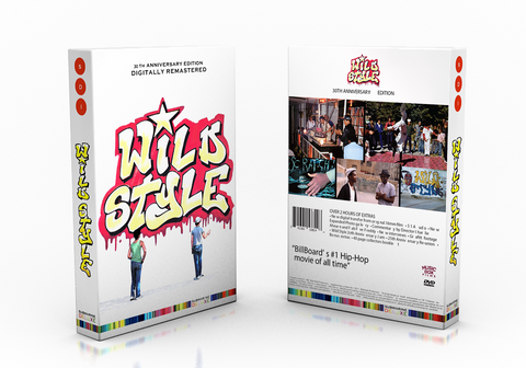 Wild Style The Movie 30th Anniversary DVD