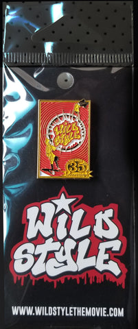 Wild Style Movie Poster - Pin