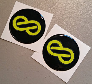CUSTOM Enkei Center Cap Decals (Set of 4)