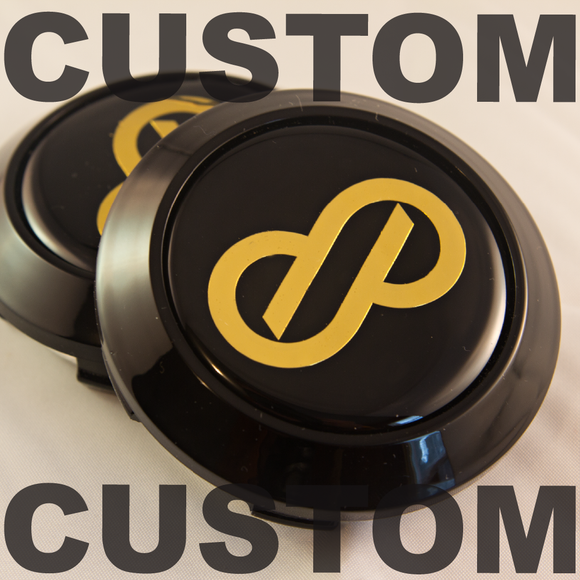 CUSTOM Enkei RPF1 Center Caps (Set of 4)
