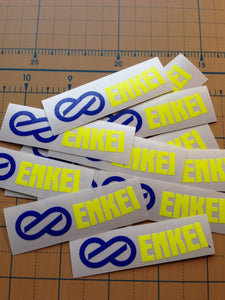 Multicolor Replacement Enkei RPF1 Wheel Stickers (Set of 2)