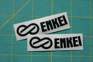Replacement Enkei RPF1 Wheel Stickers (Set of 2)
