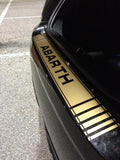 Fiat 500 Abarth Bumper Decal