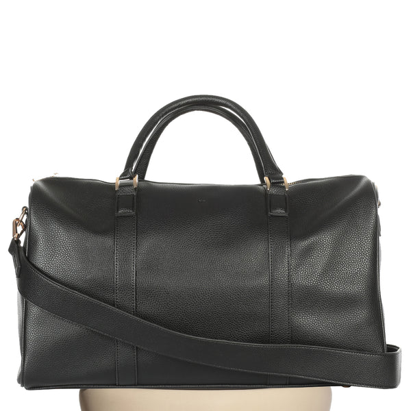 Abi Weekender - Black Pebble