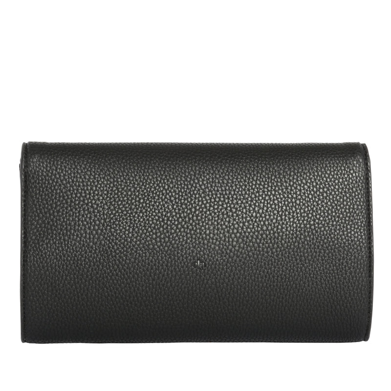 MILCK Clutch – Black Pebble