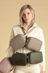 Belt Bag – Khaki Croc