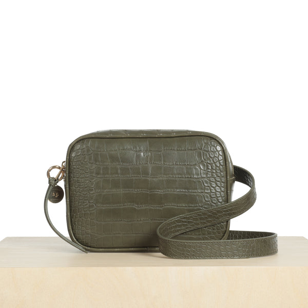 Belt Bag - Khaki Croc