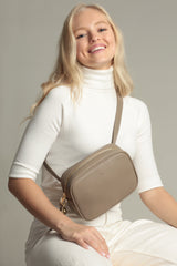 Belt Bag – Taupe Pebble