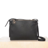 Double Crossbody – Black Pebble