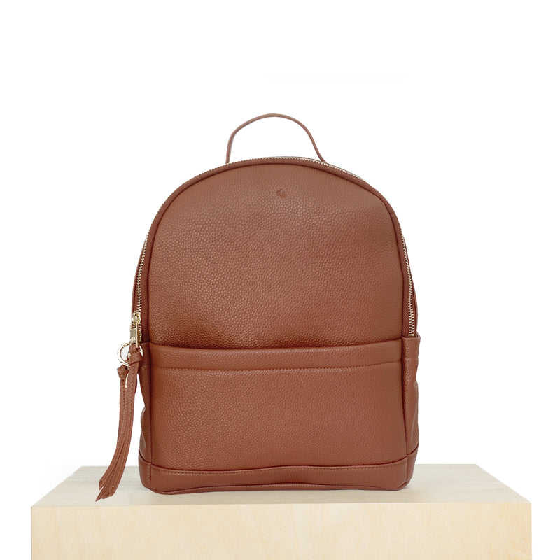 Mini Backpack – Brick Pebble