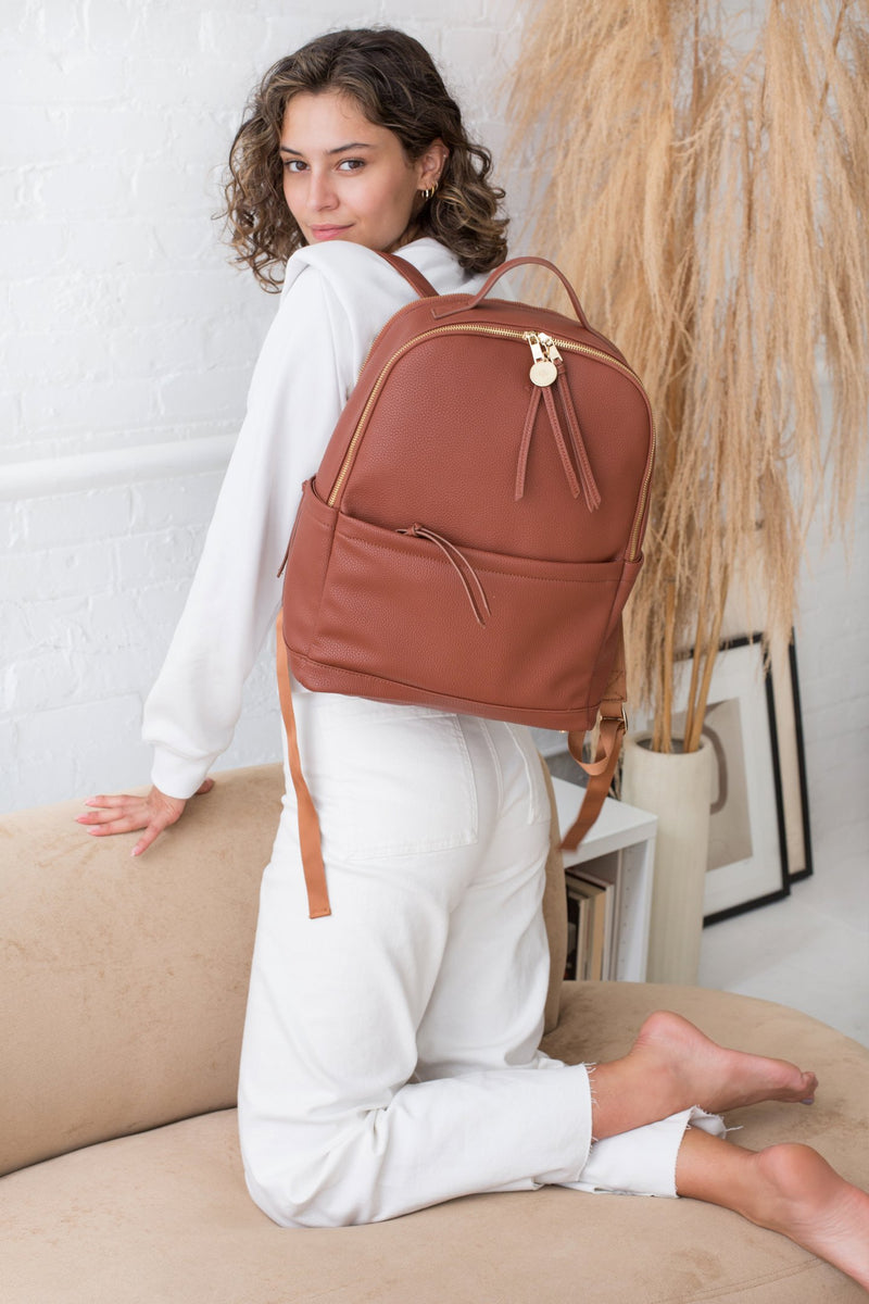 Backpack - Caramel Pebble