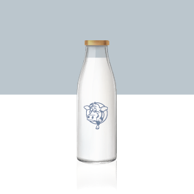 1L Milk Refill - Single Purchase or Subscription