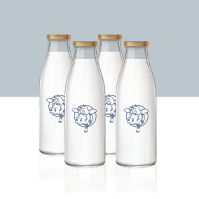 4L Milk Refill - Single Purchase or Subscription