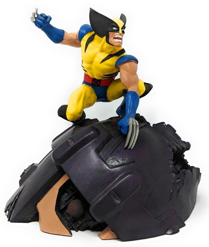 Wolverine 1994 Limited Edition, Hand Painted Porcelain Figure by Randy Bowen | 572 of 5500