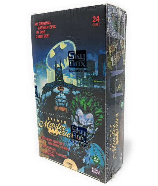 Skybox 1996 Batman Premiere Edition Master Series Trading Cards | 24 Count, Factory Sealed Box