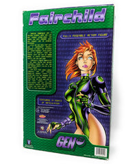 Gen 13 Fairchild Previews Exclusive 12 Inch Figure, Series 1 with Limited Edition Chromium Comic Book