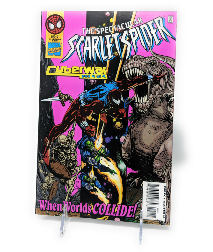 The Spectacular Scarlet Spider Cyberwar Part 4 of 4 by Marvel Comics, December 1995