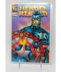 Captain America Heroes Reborn 1/2 Issue - Wizard / Marvel November, 1995