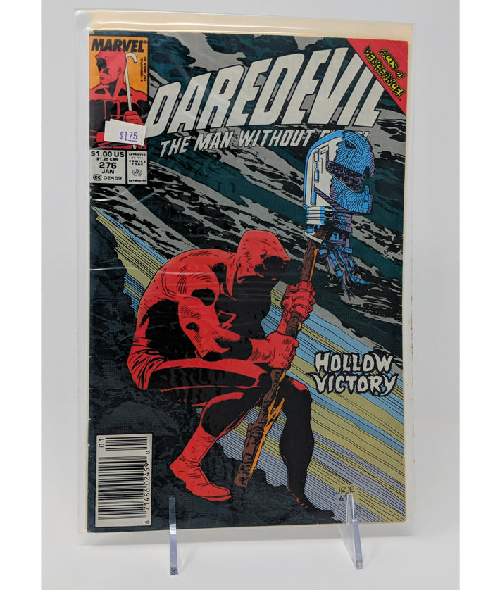 Daredevil #276 Hollow Victory - Marvel Comics January, 1990