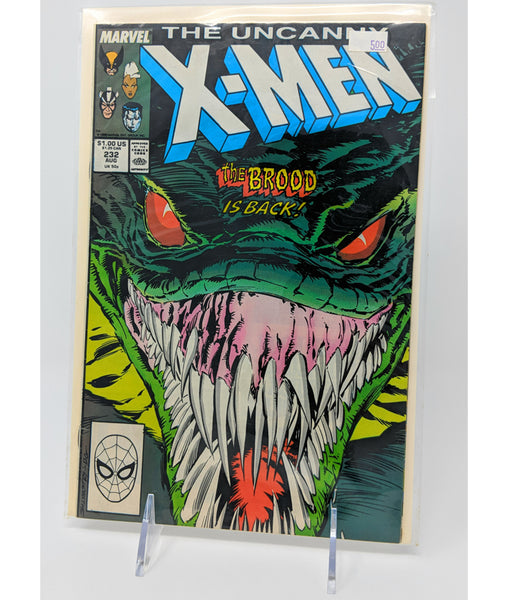 The Uncanny X Men #232 by Marvel Comics - August, 1988