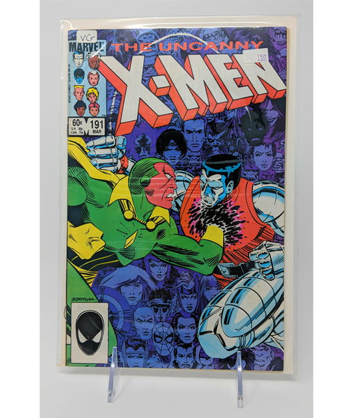 The Uncanny X Men #191 by Marvel Comics - March, 1985