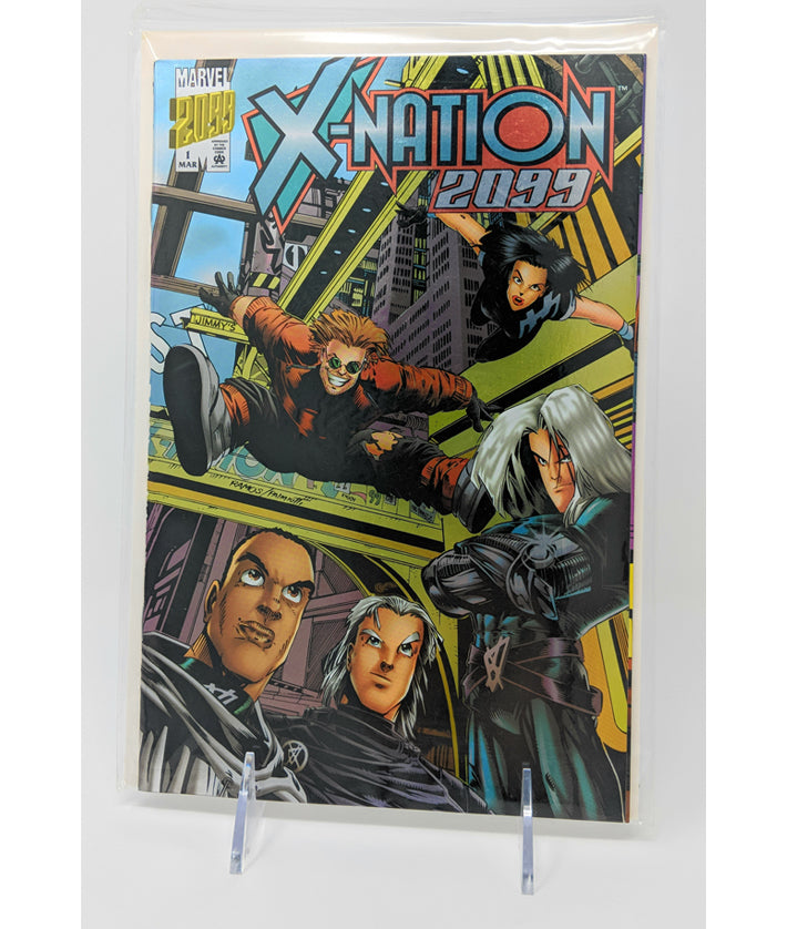 X-Nation 2099 #1 by Marvel Comics - March, 1996