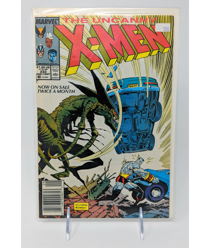 The Uncanny X-Men #233 by Marvel Comics - Early September, 1988