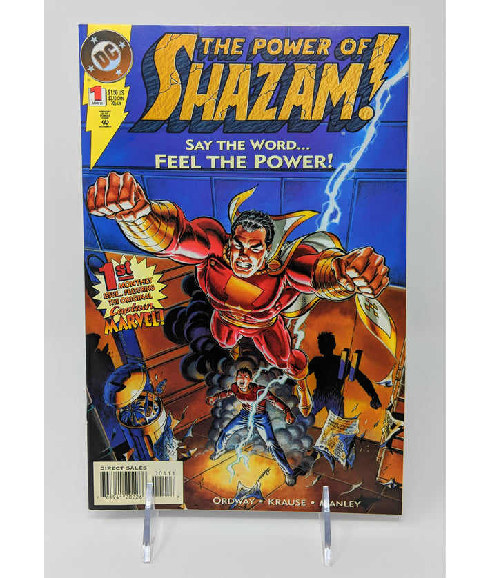 The Power of Shazam #1 by DC Comics - March, 1995