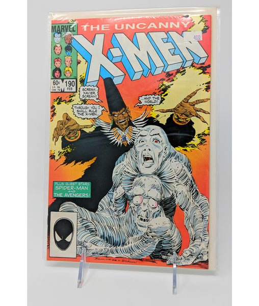 The Uncanny X-Men #190 by Marvel Comics - February, 1985