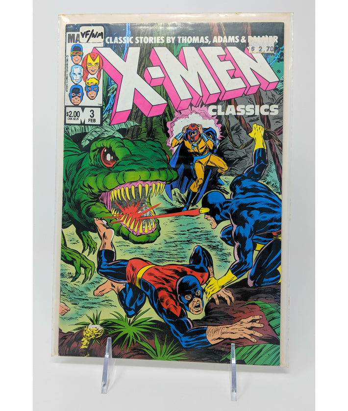 X-Men Classics #3 by Marvel Comics - February, 1984