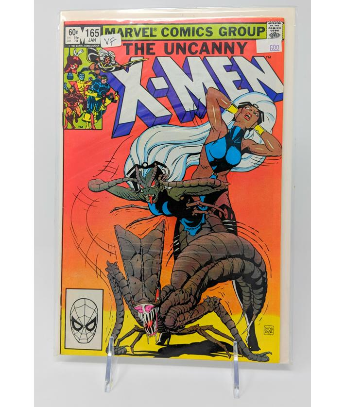 The Uncanny X-Men #165 - VF Quality, Jan 1983