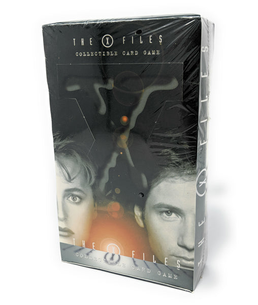 X Files Sealed Booster Box (Orange 1st Edition) Collectible Card Game