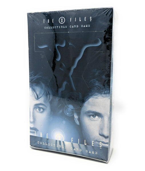 X Files Sealed Booster Box (Blue) The Truth is Out There Collectible Card Game