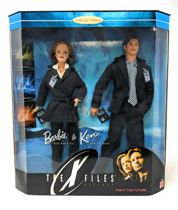 X Files Barbie & Ken 1998 Fight the Future Mulder and Scully Barbie