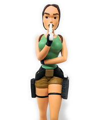 Eidos Tomb Raider Lara Croft Statue - Broken / Clearance