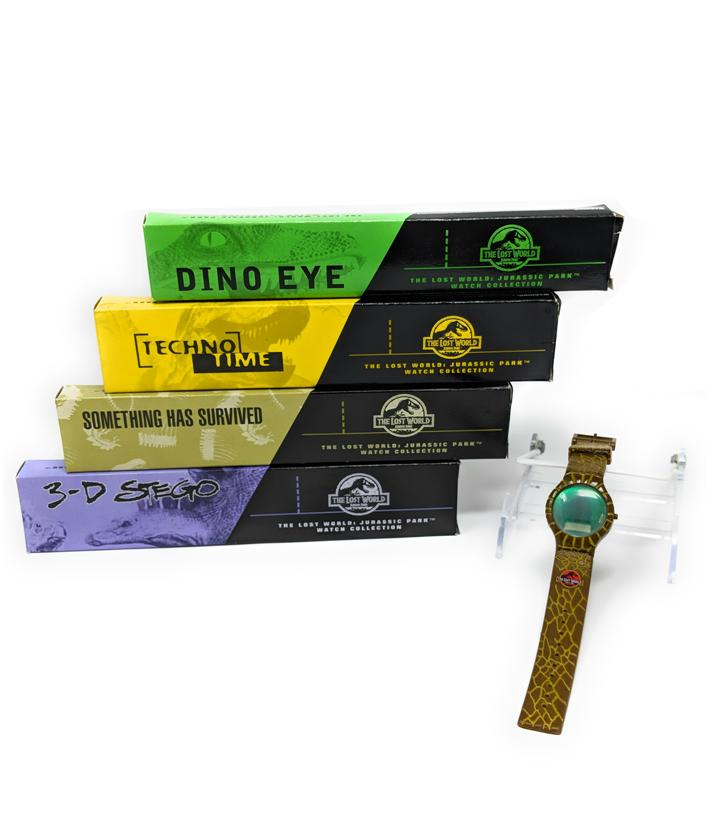 Jurassic Park 3 Burger King Watches, Set of 4