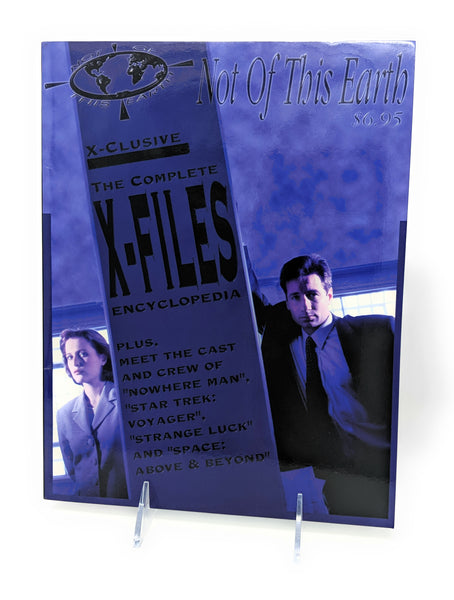 The X Files 1993 X-clusive Complete Encyclopedia by Not of this Earth
