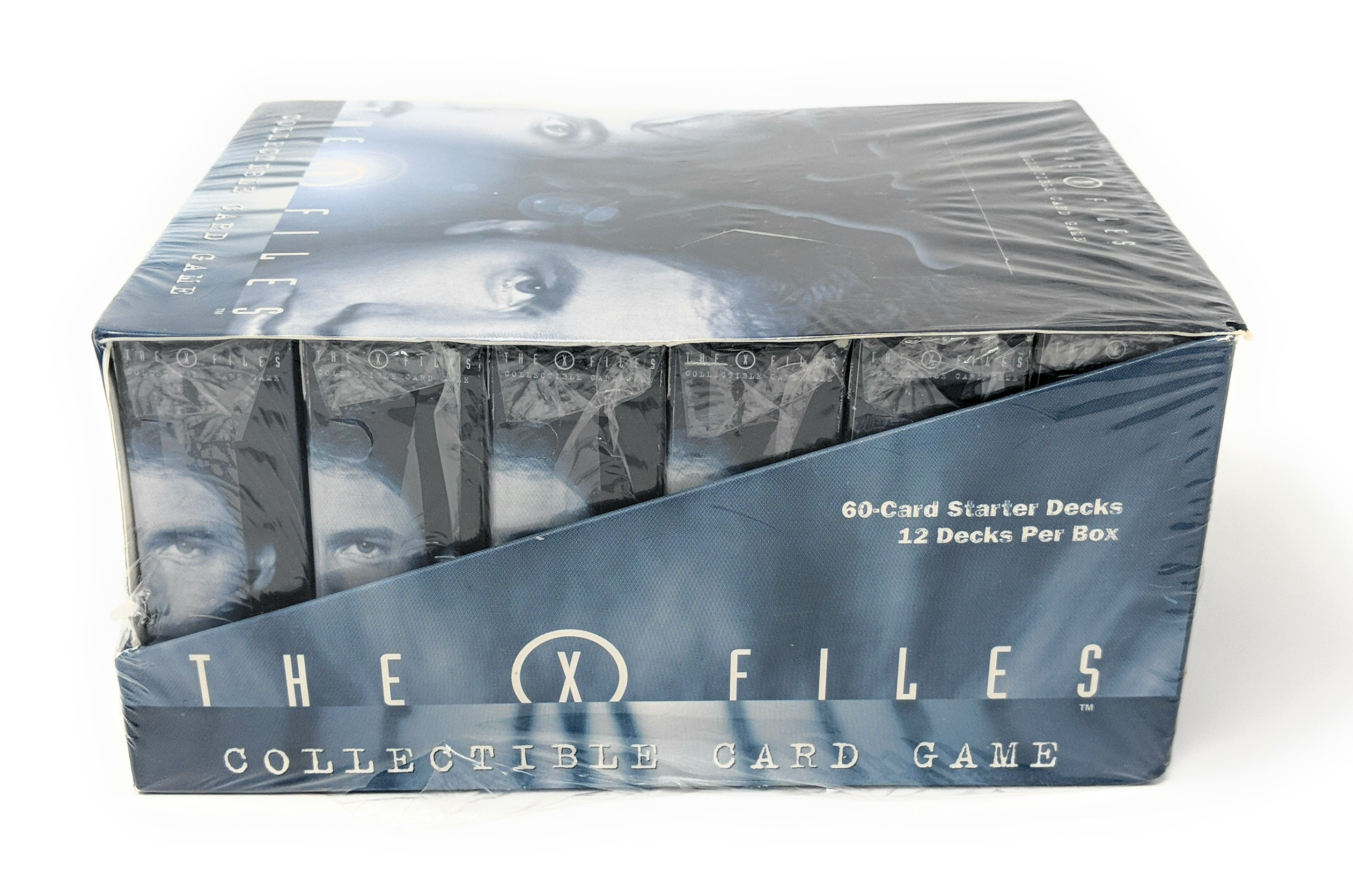 X Files Starter Deck Box (12 Decks) The Truth is out There Collectible Card Game
