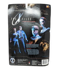 X Files Agent Mulder Action Figure with Alien, 1998 Fight the Future Series 1