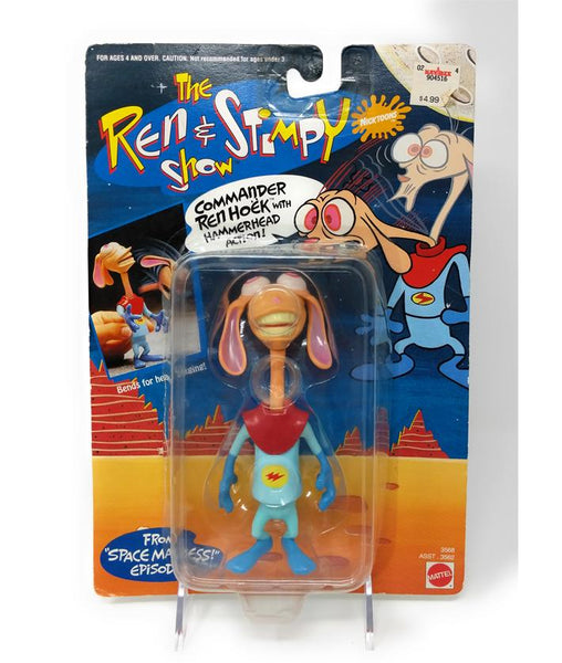 Ren & Stimpy (1993) Commander Hoek Action Figure with Hammerhead Action