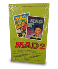 Mad 2 (1992) Sealed Box Trading Cards and Commemorative Book Bundle