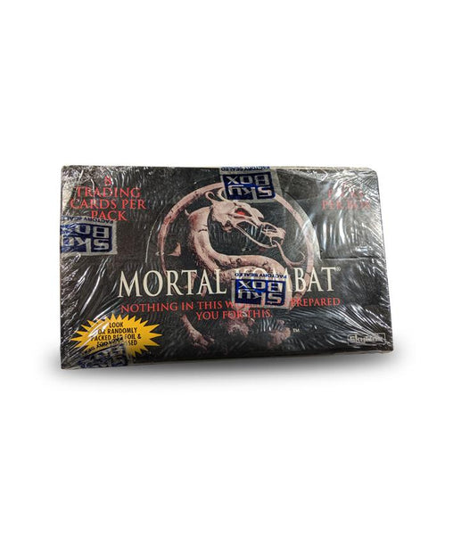Mortal Kombat 1995 Trading Cards by Sky Box - 36 Packs/15 Cards