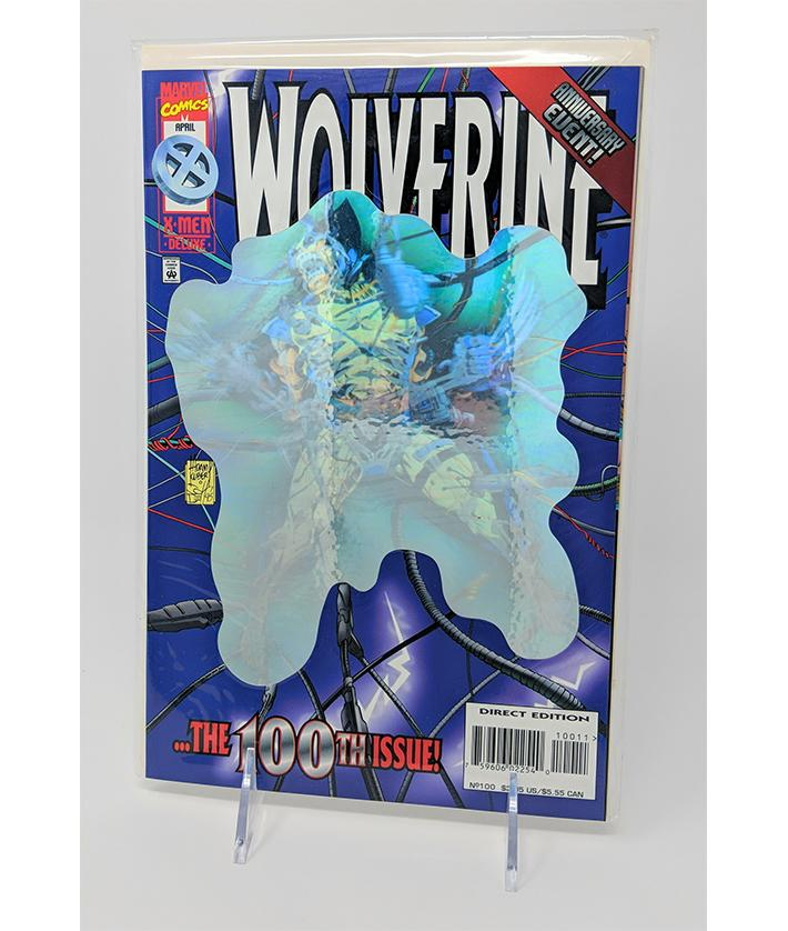 Wolverine The 100th Issue Anniversary Event, X Men Deluxe Direct Edition April 1996