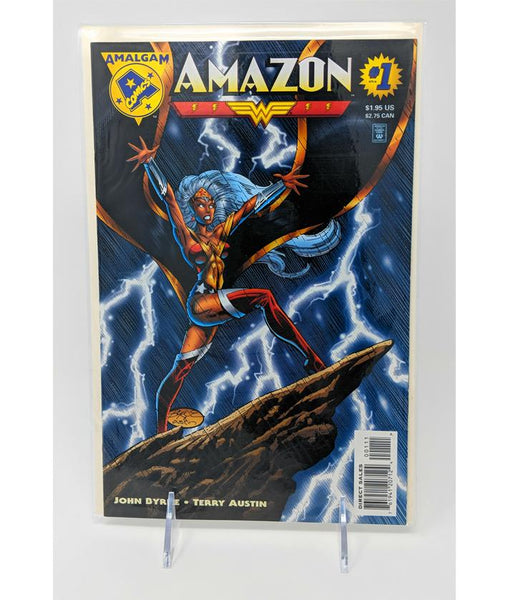 Amazon #1 (Storm/Wonder Woman) Amalgam Comics Direct Edition, 1996 DC & Marvel