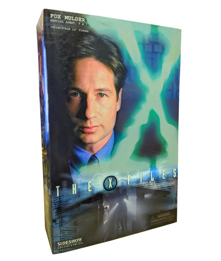 "The X-Files (2005) Sideshow Collectibles, ""Home"" Fox Mulder 12"" Figure"
