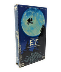 ET (1988) The Extraterrestrial Vintage VHS Tape