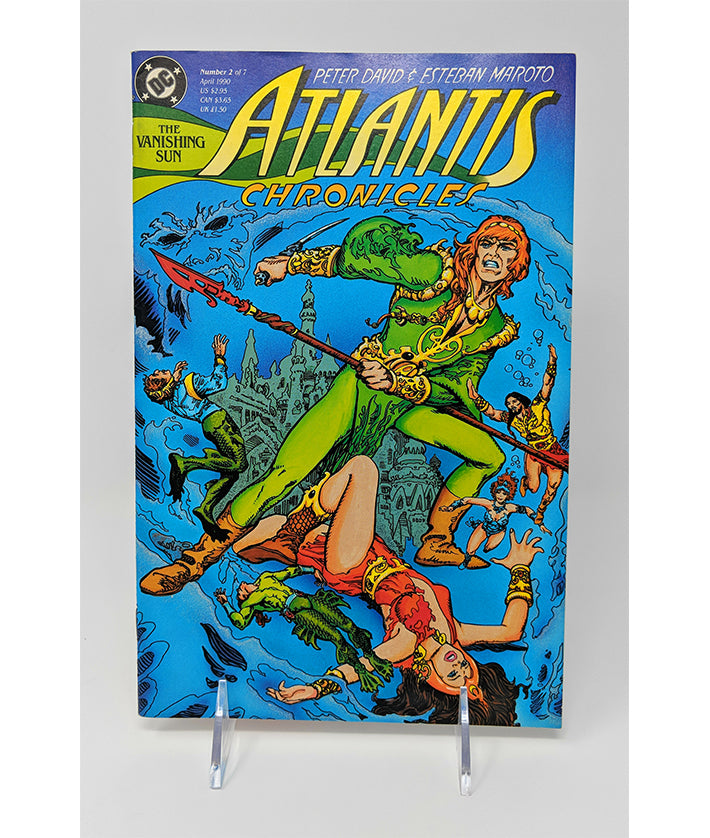 Atlantis Chronicles #2 (April 1990) DC Comics, The Vanishing Sun #2 of 2