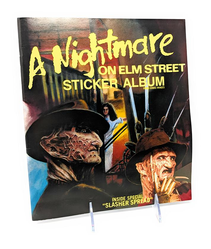 A Nightmare on Elm Street Sticker Album from Comic Images (1987)