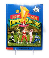 Mighty Morphin Power Ranger Scholastic Scrapbook, September 1994 Edition